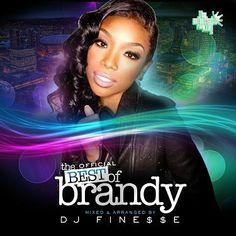 The Best Of Brandy - Hip Hop R Mixtape CD