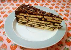 Τούρτα ριγωτή εύκολη του Παρλιάρου #sintagespareas #tourta #sokolata Greek Desserts, Greek Recipes, Sweet Corner, Sweets, Cookies, Breakfast, Food, Crack Crackers, Morning Coffee