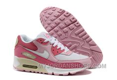 http://www.myjordanshoes.com/nike-air-max-90-womens-pink-rose-white-for-sale-btz3m.html NIKE AIR MAX 90 WOMENS PINK ROSE WHITE FOR SALE BTZ3M Only $74.00 , Free Shipping!
