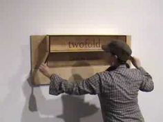Twofold Furniture for Tiny Houses and Small Spaces - This is freaking brilliant!