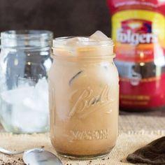 Creamy Vanilla Mocha Iced Coffee Recipe