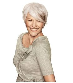 cute cut too! My mother would look great with this cut and color, can't wait for her to try it! Cute Haircuts, Cute Hairstyles, Pixie Haircuts, Pixie Hairstyles, Love Hair, Great Hair, Short Hair Cuts, Short Hair Styles, Cute Cuts