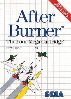 Afterburner for the Sega Master system was probably the shittiest arcade port since Donkey Kong for the Atari 2600. // ★