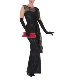 Look at this Black Widow Gown - Women on #zulily today!