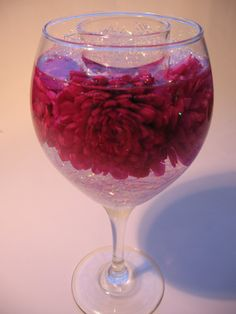 Pink Zinnia Candle Holder
