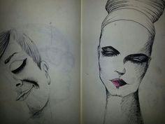 Dibujos de rostros