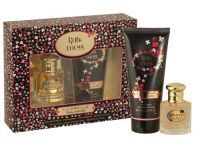 Kate Moss Lilabelle Truly Adorable Edt Gift Set The composition is floral - woody - musky, fresh, lush and sensual. Top notes are mandarin, osmanthus and freesia. The heart is composed of flowers of white lily, night blooming jasmine and frangipani, settled on the base of sandalwood, amber, heliotrope and musk. Gift Set includes: Eau De Toilette 30ml and Body Lotion 200ml