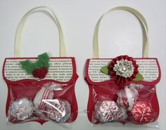 Art Inspiration for ideas for double bagging the candy for an Operation Christmas Child shoe box gift. craft-ideas-for-shoe-boxes Christmas Projects, Kids Christmas, Holiday Crafts, Christmas Trees, Christmas Candy, Christmas Decorations, Christmas Paper, Operation Christmas Child, Candy Crafts