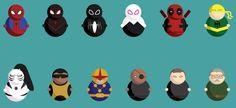 icons by student Saryn Jones,