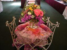 Mother's Day arrangement for brunch.