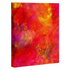Sophia Buddenhagen Summer Heat Art Canvas | DENY Designs Home Accessories