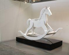rocking horse: paint it's skeleton on it so it's a dia de Los Muertos rocking horse