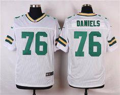 Nike Green Bay Packers  78 Mike Daniels White Elite Jersey Nfl Green Bay 1c74fe806