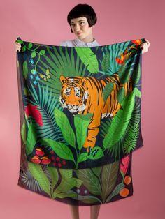 Tiger, Tiger Cashmere Blend Scarf