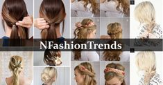 10 Inspiring and Easy Hair Styles for Girls to Look Cute - N . Hair Style Girl hair style new look girl Easy Little Girl Hairstyles, Cute Hairstyles For Teens, Easy Hairstyles For School, Teen Hairstyles, Party Hairstyles, Hairstyles With Bangs, Hairstyle Ideas, Blonde Balayage Highlights, Hair Images