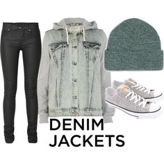 Designer Clothes, Shoes & Bags for Women Ann, Swag, Shoe Bag, Denim, Awesome, Winter, Polyvore, Jackets, Stuff To Buy
