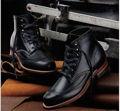 WOLVERINE-1000-MILE-Women-039-s-Addison-Wingtip-Boots-Made-in-USA