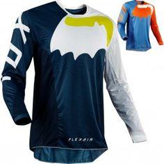 Fox Flexair Hifeye Blue Orange Offroad MX Motocross Race Jersey Adults Large