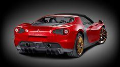 """Para marcar 60 años creando hermosos automóviles juntos, Ferrari y Pininfarina están fabricando seis súper coches personalizados basados en el coche concepto """"Sergio"""", para recordarnos su larga ..."""