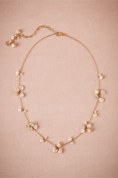 Wisteria Necklace in Shoes & Accessories Jewelry at BHLDN