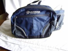 Outdoor Products Fanny Pack - Blue and Black for sale at Wenzel Thrifty Nickel ecrater store