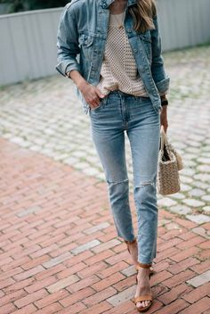 How to Style Denim on Denim this Summer | Jess Ann Kirby