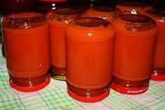 Domowy koncentrat pomidorowy Ketchup, Preserves, Cake Recipes, Food And Drink, Cooking Recipes, Vegan, Dishes, Canning, Tableware