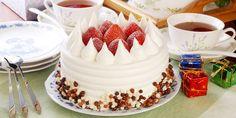 Vemale.com - Natal akan semakin ceria dengan sajian Cake Tart. Anda bisa membuat Tart Natal Sederhana Hias Strawberry di rumah.