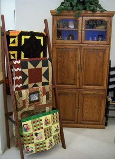Quilt Ladders 30 cms.  170 altura  55 ancho