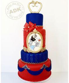 Snow White cake - Bolo Branca de Neve