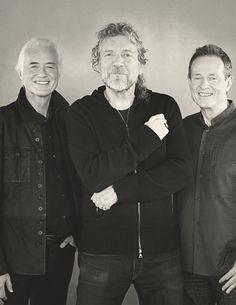 Jimmy Page, Robert Plant & John Paul Jones 2007