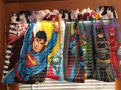 justice league curtains - Google Search