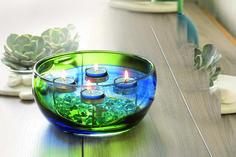 Teelichtschale Frühlingszauber / Porte-bougie à réchaud multiple Art Printanier Decoration, Spring, Creative, Art, Decor, Art Background, Kunst, Decorations, Performing Arts