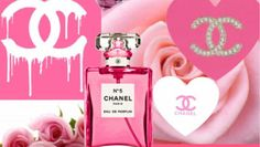 Chanel Background, Chanel Wallpapers, Chanel Logo, Perfume Bottles, Pink, Channel, Backgrounds, Image, Hot Pink