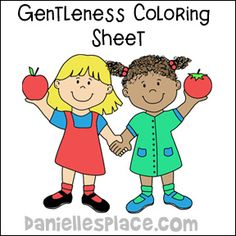 Hand in hand color sheet from wwww.daniellesplace.com