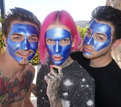 My favorite people wearing my absolute favorite mask:) ❤️❤️❤️