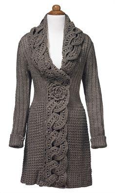 Love it - Crochet Flower Coat