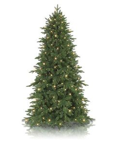 Artfully designed to resemble a real evergreen, the Addison Spruce is one of our most realistic trees. This tree has a lush yet slender silhouette for a high-end holiday look in any room.
