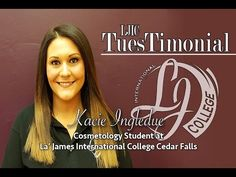 Meet Kacie, Cosmetology student at La' James International College in Cedar Falls! See why Kacie chose LJIC to start her journey through the Health & Beauty Industry.  ➳ https://www.youtube.com/watch?v=lXo1LtBXyzw