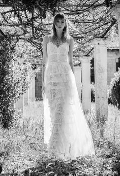 The new Costarellos wedding dresses have arrived! See what the latest Costarellos bridal collection has to offer engaged brides. Sexy Wedding Dresses, Colored Wedding Dresses, Designer Wedding Dresses, Bridal Dresses, Wedding Wear, Bridal Fashion Week, Wedding Beauty, Beach Dresses, Bridal Style