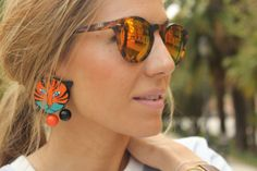 Bimba y Lola earrings