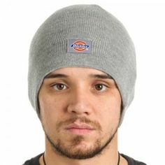 ba4ba8f9 Dickies Core Light Gray Beanie Hat Core Knit Cuff - NWT Warm Winter Grey  Basic #