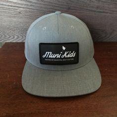 ca36b61f62c Inspired Snapback (Grey) from Muni Kids™ Play Golf