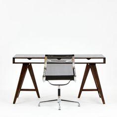 Trestle Desk - Desks and Tables - Blue Sun Tree