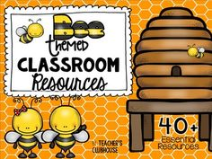 This Bee Theme resource pack was completely updated in May It is an ALL… New Classroom, Classroom Setting, Kindergarten Classroom, Classroom Themes, Classroom Organization, Teaching Activities, Infant Activities, Teaching Tools, School Countdown