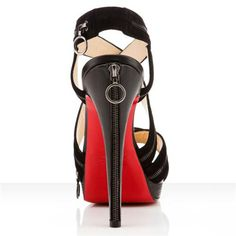 Christian Louboutin Trailer 140mm Sandals Black