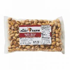 Mills Fleet Farm Garlic Onion Pistachio Nuts - 12 Oz. - Mills Fleet Farm