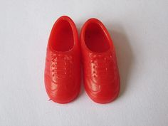 Dolls Shoes Barbie Sindy etc red