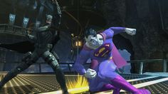 Future Batman vs. Bizarro