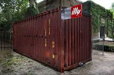 Container Homes That Open In 90 Seconds. Push Button Houses by Adam Kalkin.